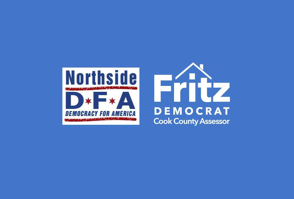 Northside DFA endorses Fritz Kaegi for Cook County Assessor